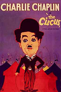charlie chaplin the circus 1928 poster