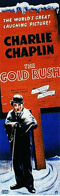 charilie chaplin gold rush 1925 poster