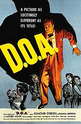 D.O.A. movie poster