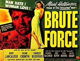 Brute Force movie poster