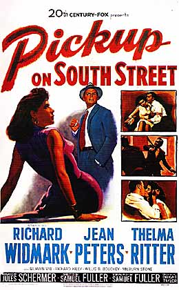 Pickup on South Street movie poster