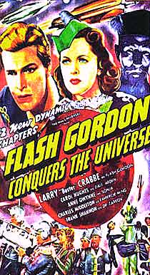 Flash Gordon Conquers the Universe movie serial poster
