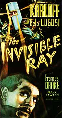Invisible Ray movie poster