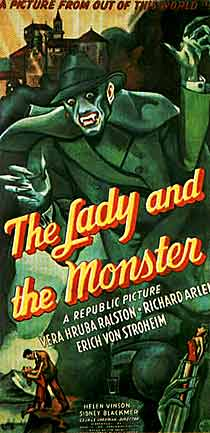 Lady & the Monster movie poster