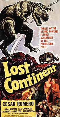 Lost Continent movie poster