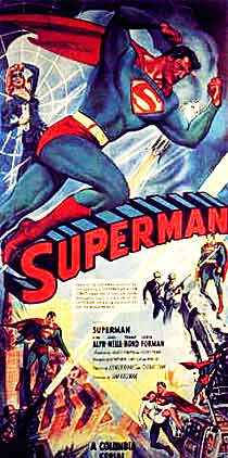 Superman serial movie poster